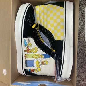 the simpsons limited vans